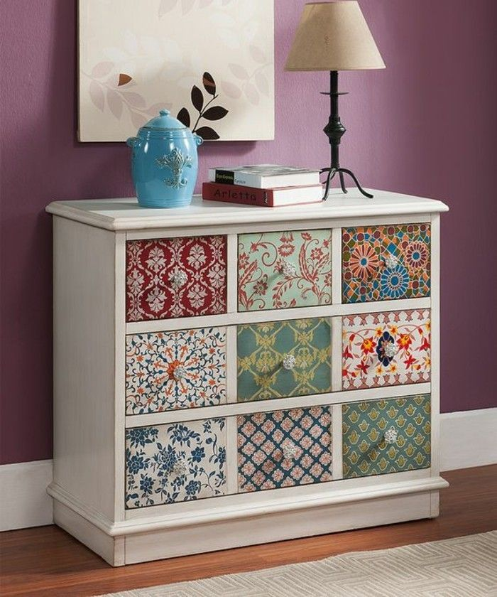 cabinet paint in white colorful drawers floor lamp books