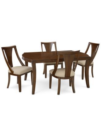 Furniture Portland Expandable Dining Furniture Collection, Created for Macy'...