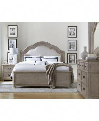 Furniture Elina Bedroom Furniture Set, 3-Pc. (King Bed, Dresser & Nightstand), C...