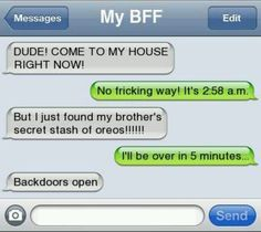 funny texts with your best friend