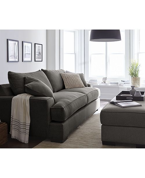 Furniture Ainsley Fabric Sofa Living Room Collection, Created for Macy's & R...