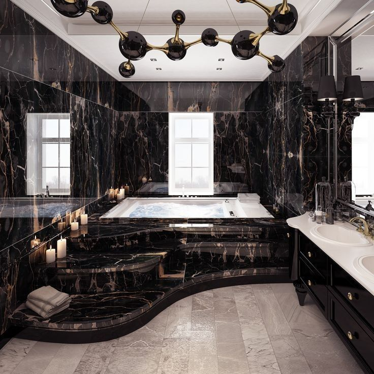 32 luxury bathrooms and tips you can copy from them 31 - #bathrooms #Copy #luxur...