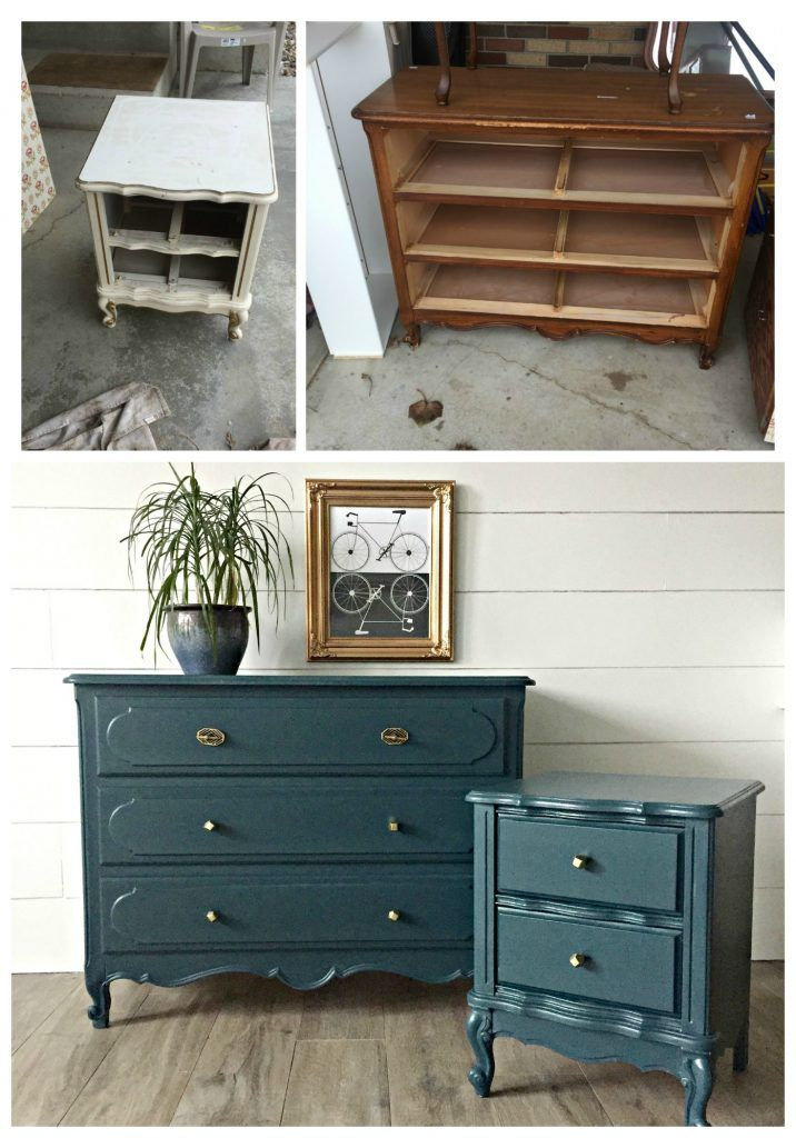 From mismatched to match-made-in-Heaven. Tips and tricks for painting old furnit...
