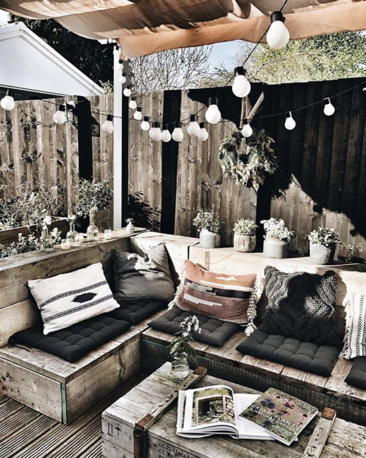 Wooden pallet furniture #wood pallet furniture #garden design