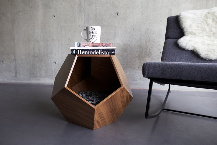 Modern geometric cave for dog ~~ I would buy this... but a bit scared to find ou...