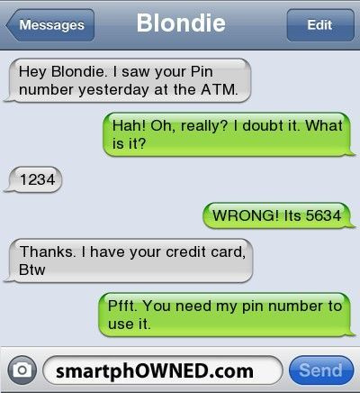 Fail Pin Number - - Autocorrect Fails and Funny Text Messages - SmartphOWNED mob...