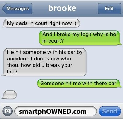 smartphowned texts | funny, message, smartphowned, text - inspiring picture on F...