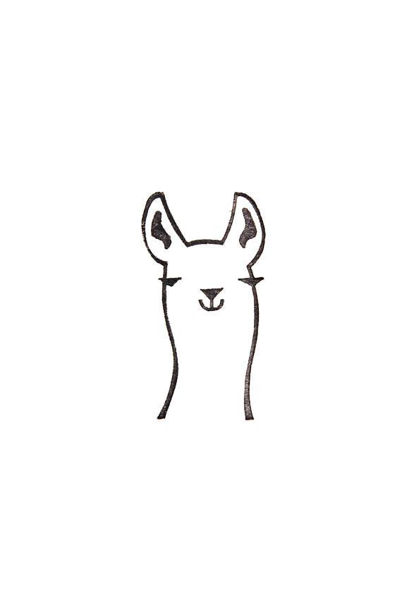 A llama stamp is a cutest addition to the Woodland Tale stamp collection. This i...