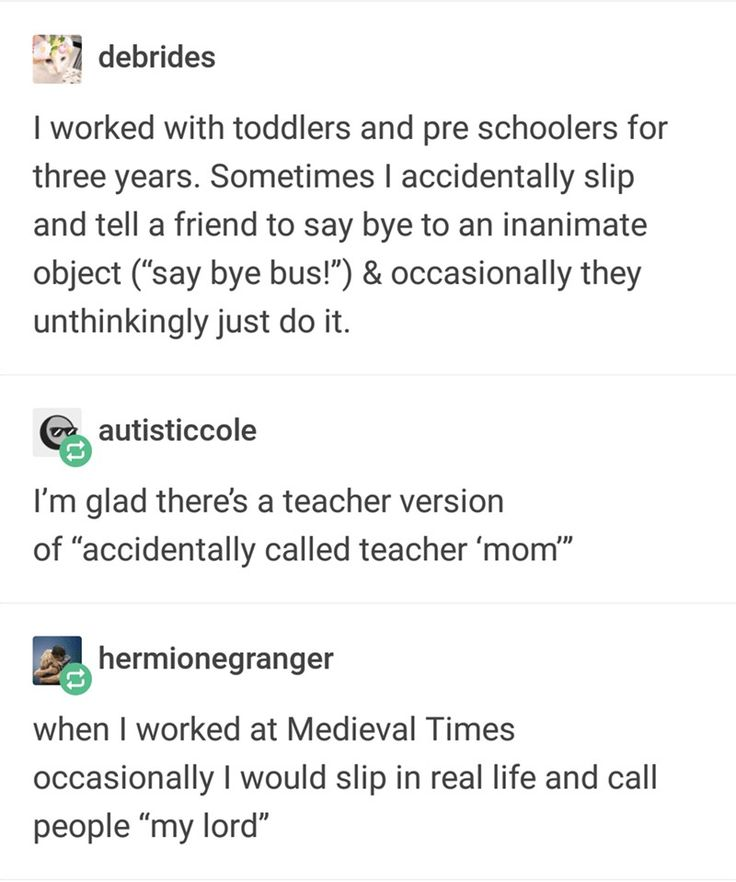Relatable tumblr thread about mental gaffe is incredibly accurate