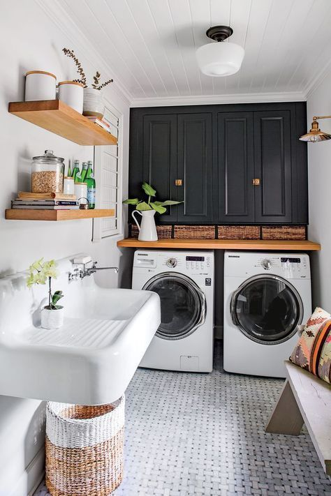 The laundry room is one of our favorite rooms - and here's the reason # one ...
