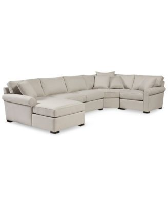 Astra 4-Pc. Sectional with Chaise, Created for Macy's | macys.com