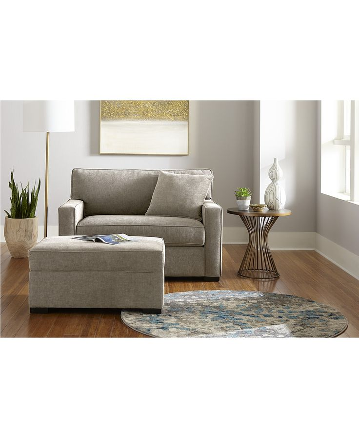 Magnified Furniture Radley Fabric Sofa Collection, Created for Macy's image