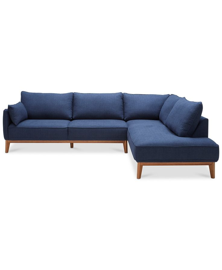 """Furniture Jollene 113"""" 2-Pc. Sectional, Created for Macy's & Reviews - Furni..."""