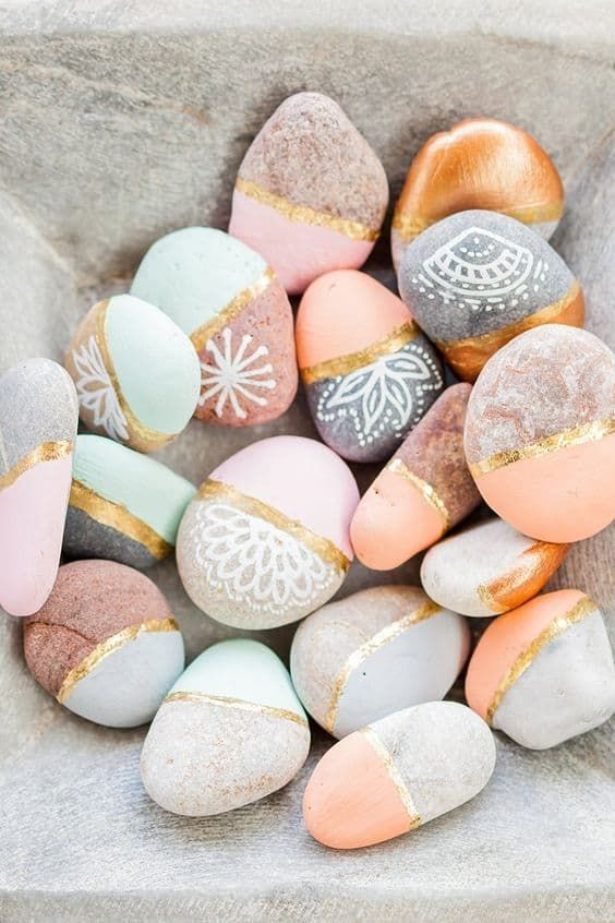 Painted Rock Crafts - Art - #art #crafts #painted #Rock