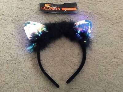 Light Up Halloween Demon Fancy Dress Party Accessory Headband #affilink #hallowe...