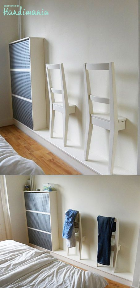 Chair hanger...I already use my bedroom chairs as hangers & then have can't ...