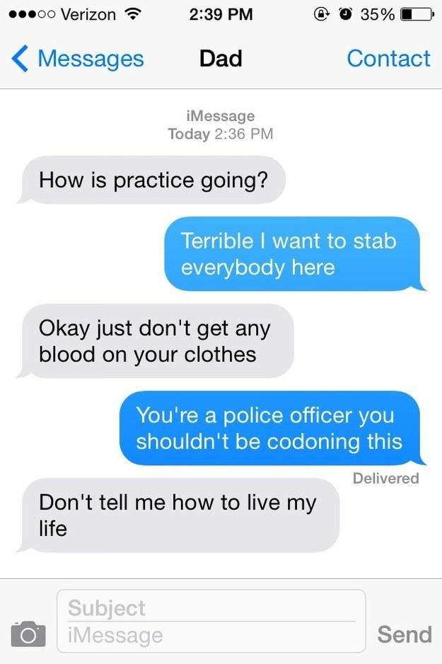 26 Times Parents Used Text Messaging To Embarrass Their Kids