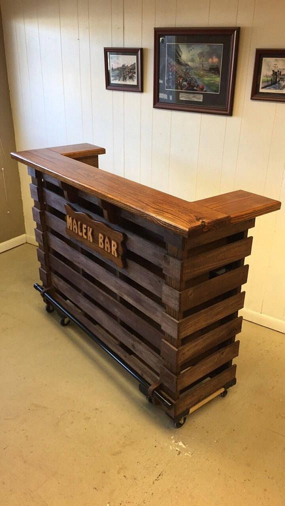 The Elite Pallet Bar, Personalize Your Bar And Bar Sign, Absolutely Beautiful Ch...