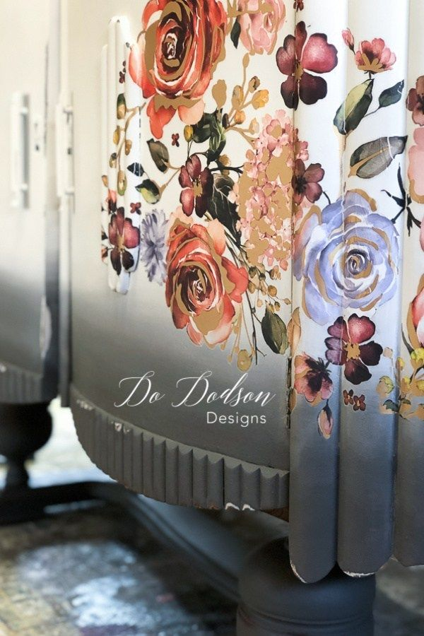 How To Quick & Easy Decor Transfers For Painted Furniture - Do Dodson Designs