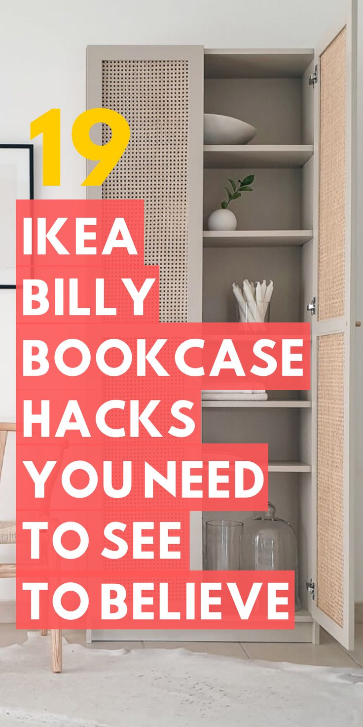 The Ikea Billy bookcase range is well known to all, but do you know the bes Ikea...