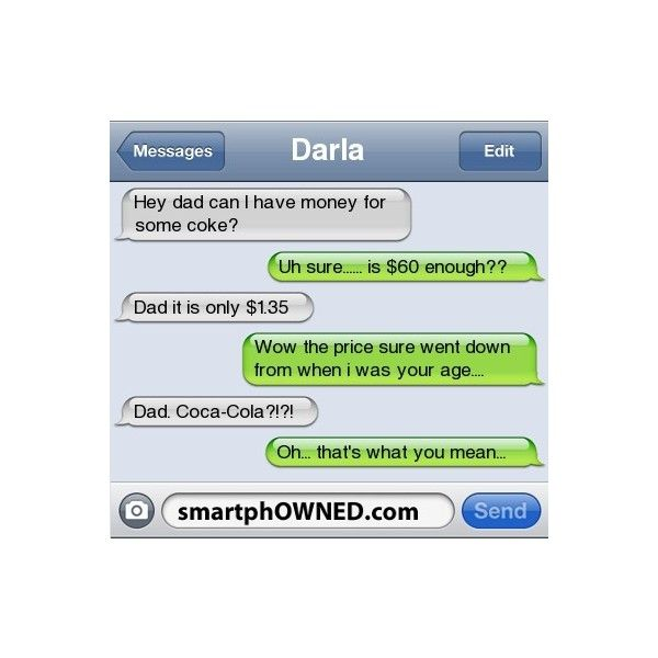 SmartphOWNED ❤ liked on Polyvore featuring text, quotes, funny, random, text m...