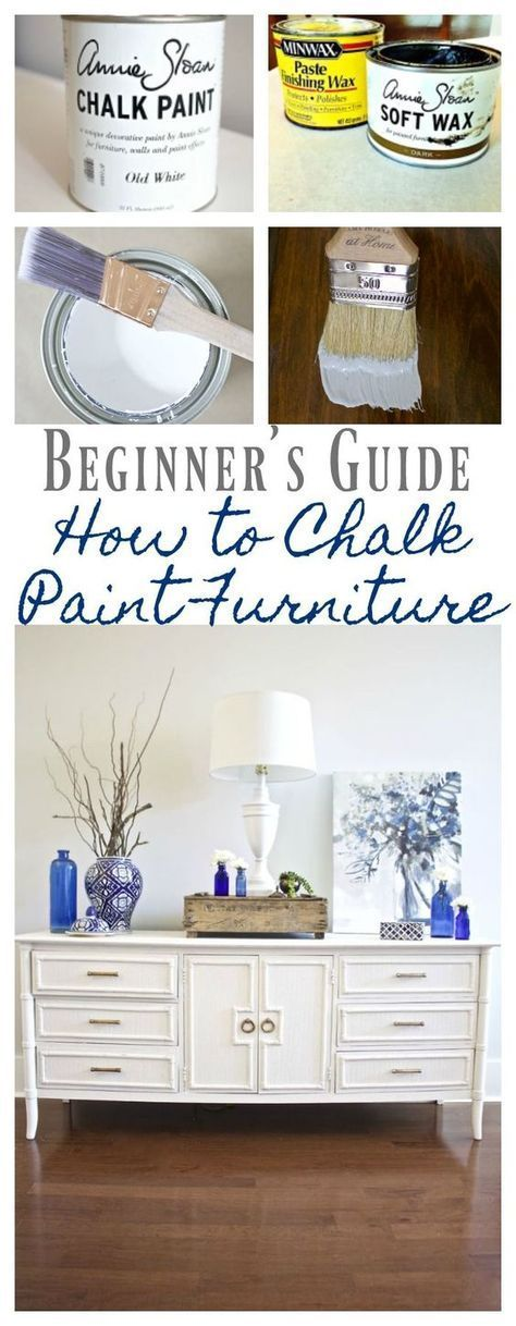 Chalk paint furniture - Our best tips
