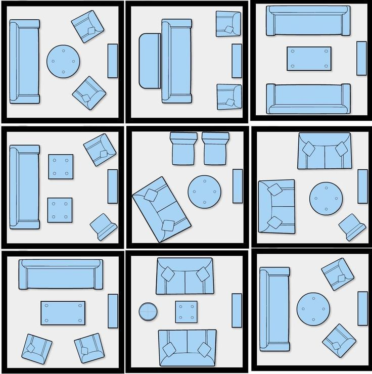 How To Efficiently Arrange The Furniture In A Small Living room - #apartment #Ar...