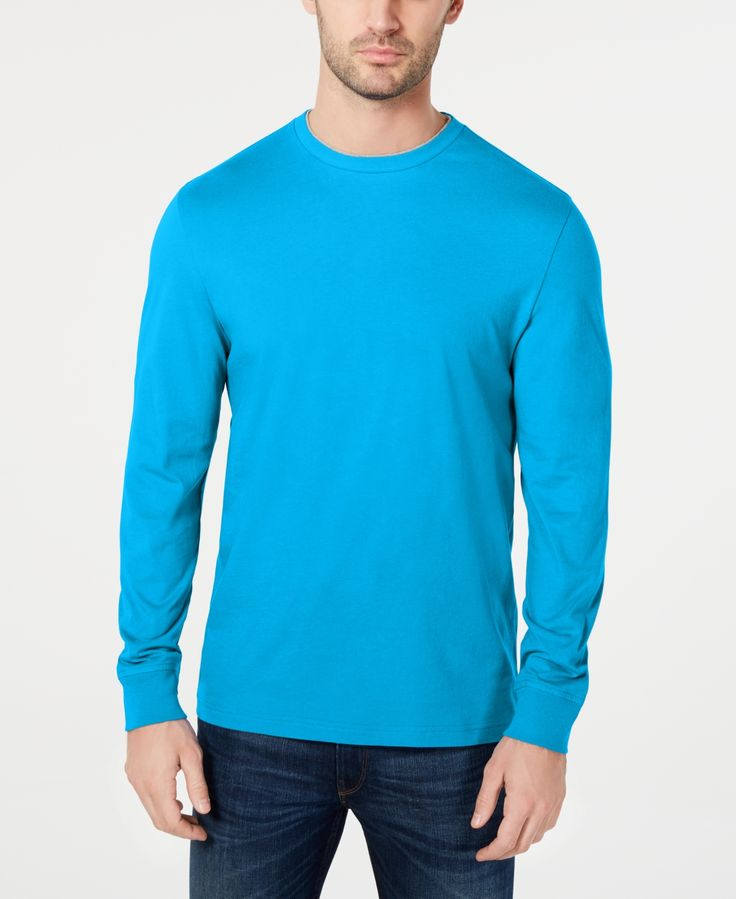 Club Room Men's Doubler Crewneck T-Shirt, Created for Macy's -