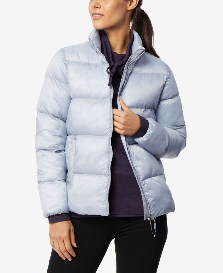 32 Degrees Packable Puffer Coat, Created For Macy's - Arid Blue