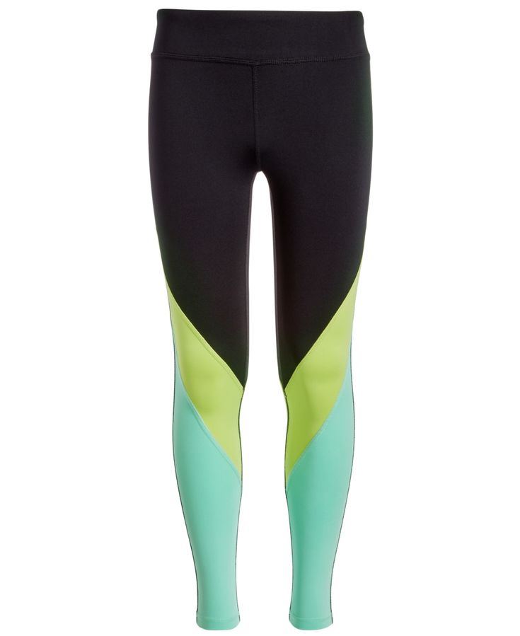 Ideology Big Girls Colorblocked Leggings, Created for Macy's -