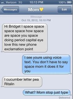 Funny Texts Messages from Mom & Dad ~ Why parents shouldnt be texting