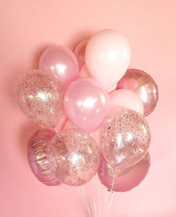 Don't get me flowers, get me a bunch of pink balloons for V-day