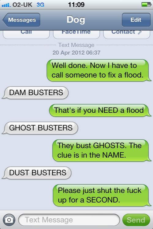 Can't. Stop. Giggling. Via textfromdog.tumbl...