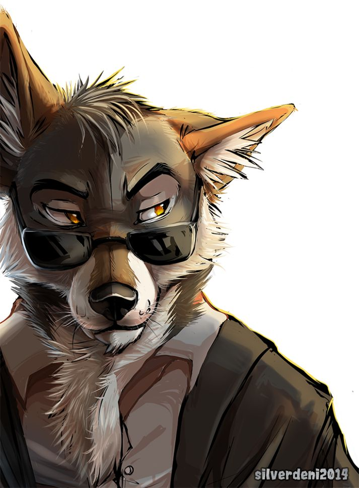 You know what they say by SilverDeni.devian... on @DeviantArt #coyote #furry #ef...