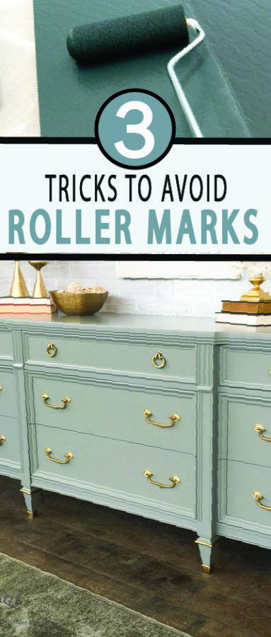 I hate roller marks, don't you? Here's three tips on what you can do to ...