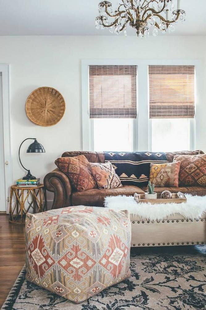 See more images from 31 boho rooms with too many prints (in a good way!) on domi...