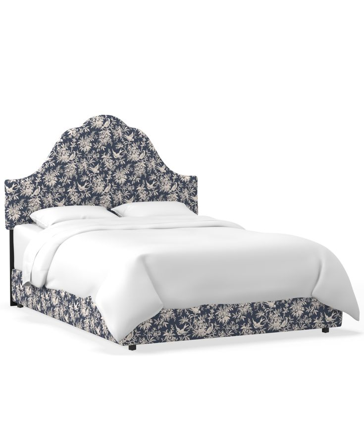 Martha Stewart Collection Bedford Collection Kingsley California King Bed, Quick...