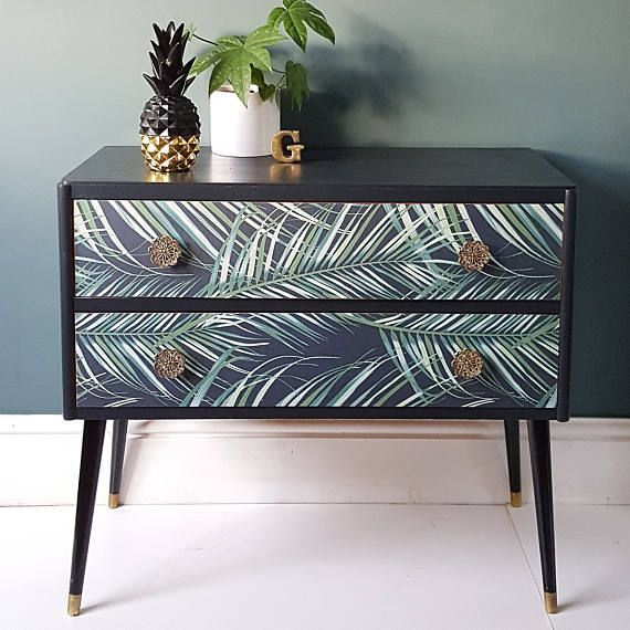 THIS ARTICLE IS NOW SOLD! A rare pair of mid century dressers with .....