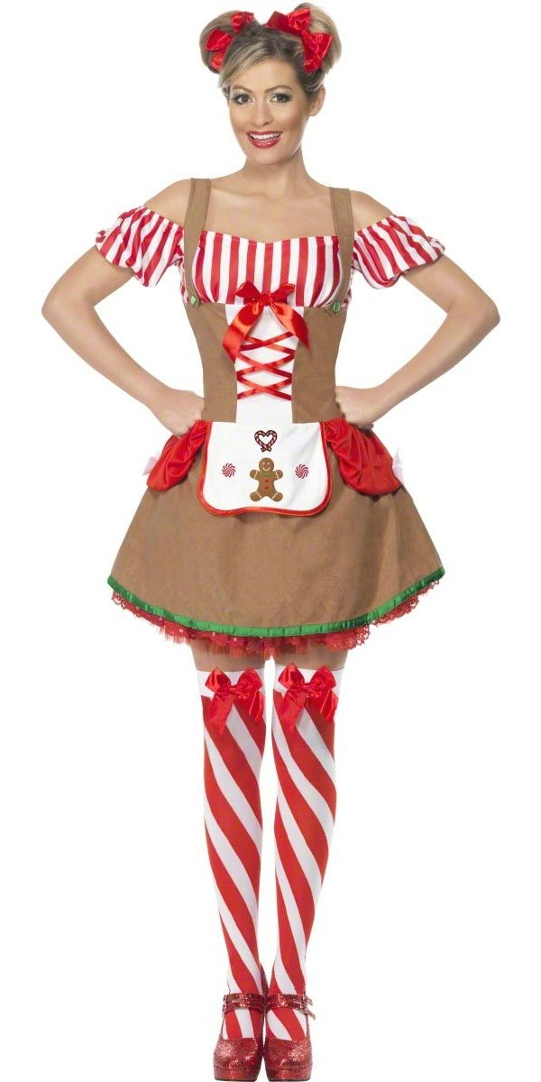 Christmas+elf+costume+Women | Christmas Fancy Dress > Ladies Christmas Costumes ...