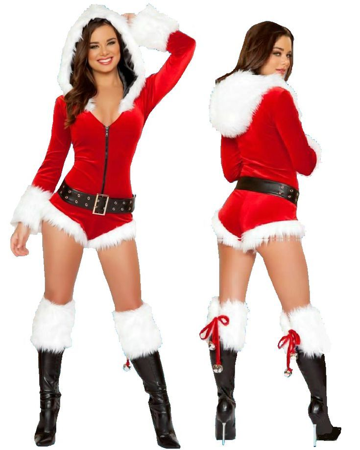 Sexy Santa Christmas Costume - NelaSportswear | Women's fitness activewear workout clothes exercise clothing