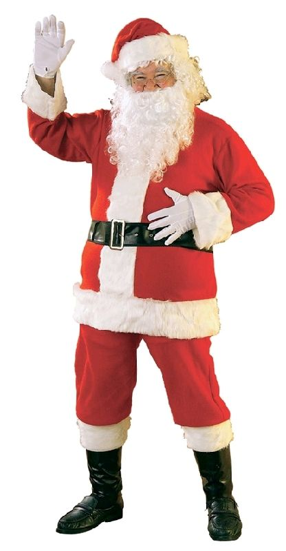 Father Christmas Santa Suit, Father Christmas Costume, Size XL